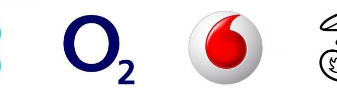 O2 Vodafone Three EE - UK Mobile Carriers User Experience and more